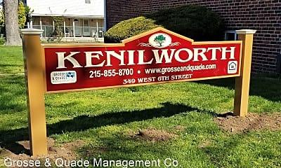 Community Signage, 349 W 6th St, 1