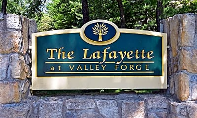 Community Signage, The Lafayette At Valley Forge, 2