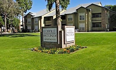 Community Signage, Cobblestone Apartments, 2