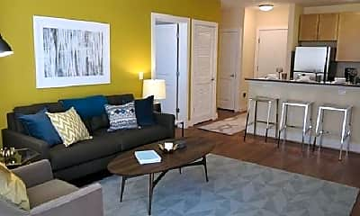 Living Room, 2425 17th St NW, 2