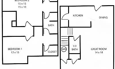 Building, 4209 Sydney Cove, 1