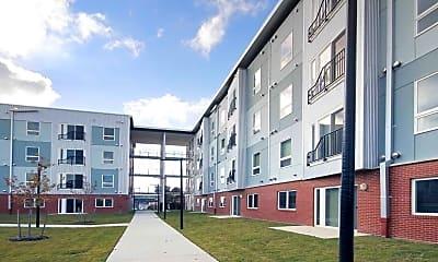 Building, Liberty Apartment Homes, 2