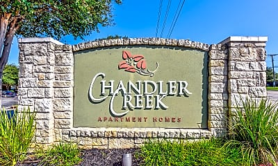 Community Signage, Chandler Creek Apartments, 2