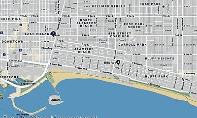Building, 834 E 4th St, 2