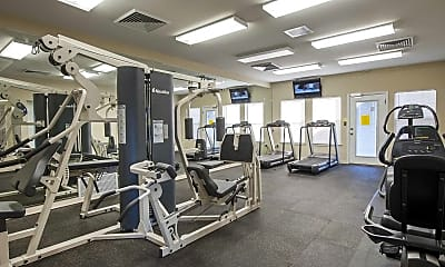 Fitness Weight Room, Windy Shores, 1