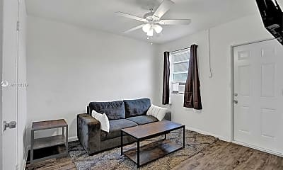 Living Room, 708 NW 4th Ave 7, 1