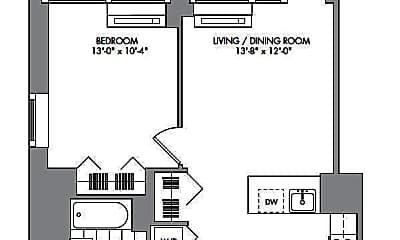 Patio / Deck, 42-15 Crescent St, 2