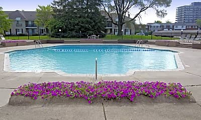 Pool, Coach House Apartments, 1