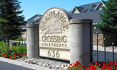 Community Signage, Graymayre Crossing Apartments, 1