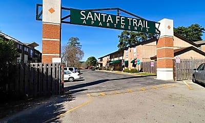 Community Signage, Santa Fe Trails, 0
