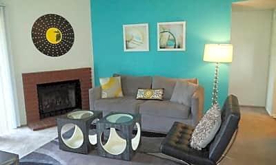 Living Room, Acacia Park Apartment Homes, 1