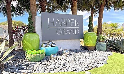 Community Signage, Harper Grand, 2