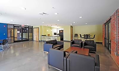 Clubhouse, Hatcher Tobacco Flats Apartments, 0