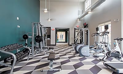 Fitness Weight Room, North 680, 1