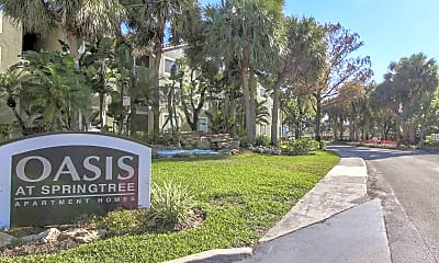 Community Signage, The Oasis At Springtree, 2