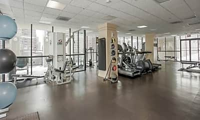 Fitness Weight Room, 1122 N Clark St 3610, 2