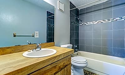 Bathroom, Windtree Apartments, 2