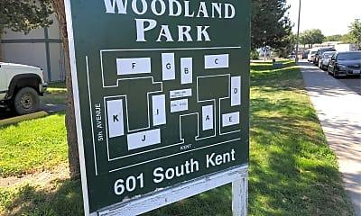 Woodland Park Apts, 1