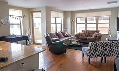 Living Room, Icon on Bond, 1