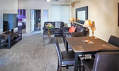 Living Room, 4111 N Drinkwater Blvd A402, 0