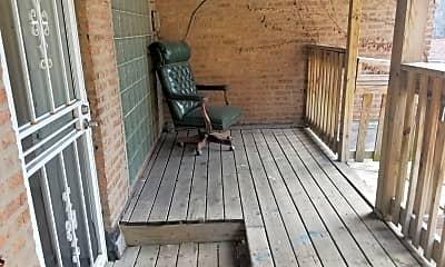 Patio / Deck, 1314 S Wabash Ave 2, 2