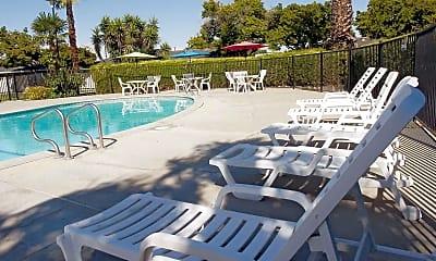 Pool, Garden East Apartments, 0