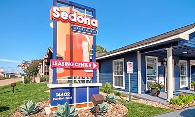 Community Signage, Sedona Apartments, 2