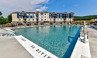 Pool, Blue Ridge Apartments, 0