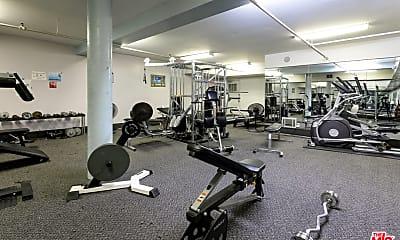 Fitness Weight Room, 11750 Sunset Blvd 409, 2