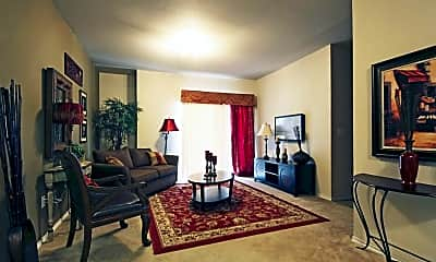Living Room, High Meadow Apartments, 1