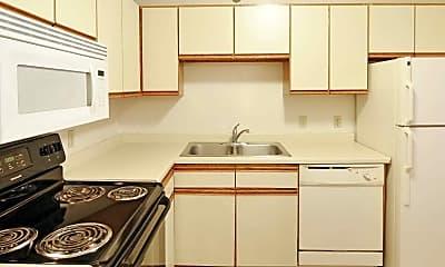 Kitchen, Cedar Hills Apartments, 1