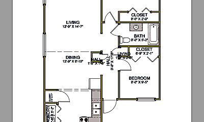 Kitchen, 253 NE Damson Ave, 1