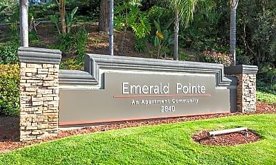 Community Signage, Emerald Pointe, 1