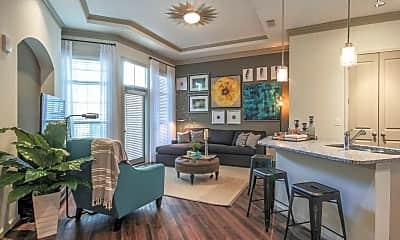 Living Room, Heights at Harper's Preserve, 1