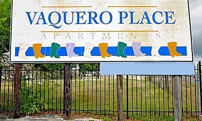 Community Signage, Vaquero Place, 2