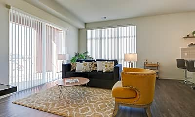 Living Room, Greenbelt Apartments, 1