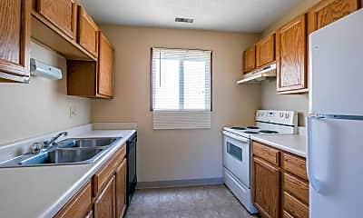 Kitchen, Wakonda West Apartments, 1
