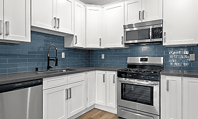 Kitchen, Clarington Court Apartments, 0