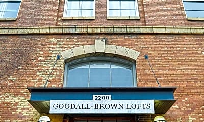 Building, Goodall-Brown Lofts, 0