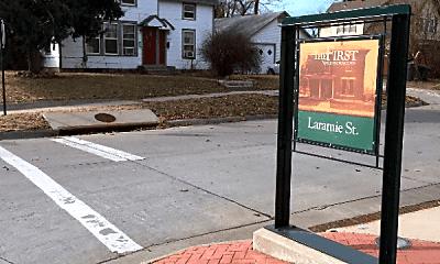 Community Signage, 401 Laramie St, 0