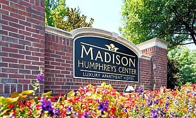 Community Signage, The Madison Humphreys Center, 0