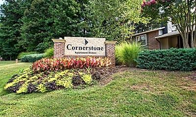Community Signage, Cornerstone Apartments, 2