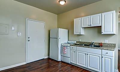 Kitchen, Union Flats, 1