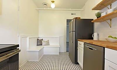 Kitchen, Belvedere, 1