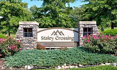 Community Signage, Staley Crossing, 2