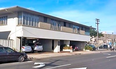Building, 1350 Kinau St, 1