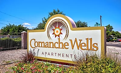 Community Signage, Comanche Wells, 2