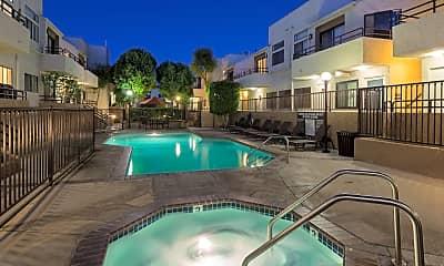 Pool, NMS Northridge: Apartments Near CSUN, 0
