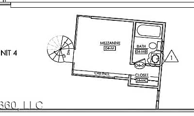 Bathroom, 360 Stockton St, 2