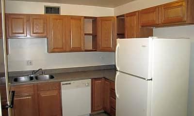 Kitchen, Los Arcos Apartments, 1